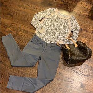 Anthropologie Pilcro brown khaki pants jeans 28